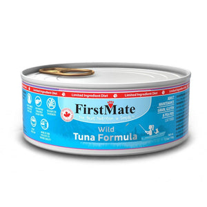 FirstMate Grain-Free Wild Tuna Formula Wet Cat Food, 156g - Happy Hoomans