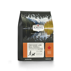 Kasiks Grain-Free Free Range Lamb Meal Formula Dry Dog Food (2 Sizes) - Happy Hoomans