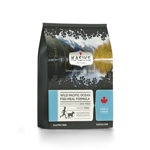Kasiks Grain-Free Wild Pacific Ocean Fish Meal Formula Dry Dog Food (2 Sizes) - Happy Hoomans