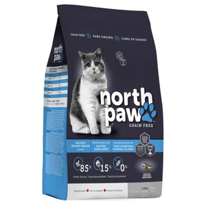North Paw Mature/ Weight Health Dry Cat Food, 2.25kg - Happy Hoomans