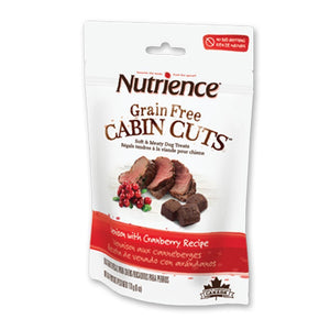 Nutrience Cabin Cuts Venison With Cranberry Recipe Grain-Free Dog Treats, 170g - Happy Hoomans