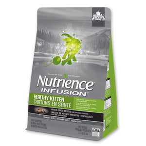 Nutrience Infusion Healthy Kitten Formula Dry Cat Food, 2.27kg - Happy Hoomans