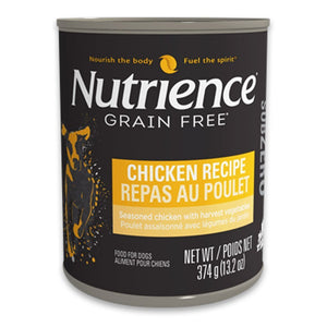 Nutrience Subzero Chicken Recipe Pâté Canned Dog Food, 374g - Happy Hoomans