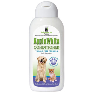 PPP Apple White Conditioner, 400ml - Happy Hoomans