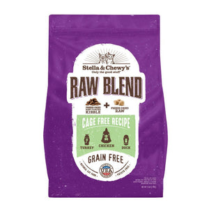 Stella & Chewy's Raw Blend Cage-Free Recipe Baked Kibble Dry Cat Food (2 Sizes) - Happy Hoomans