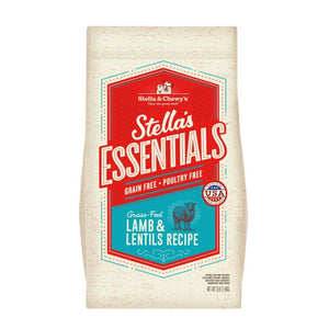 Stella & Chewy's Stella's Essentials Grain-Free Lamb & Lentils Recipe Dry Dog Food (2 Sizes) - Happy Hoomans