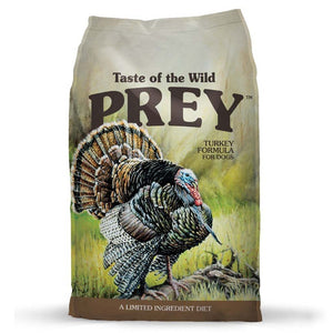 Taste Of The Wild PREY Turkey Limited Ingredients Formula Dry Dog Food (2 Sizes) - Happy Hoomans