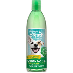 Tropiclean Fresh Breath Oral Care Water Additive for Dogs (2 Sizes) - Happy Hoomans