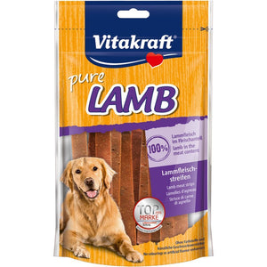 Vitakraft Lamb Strips Dog Treats, 80g - Happy Hoomans