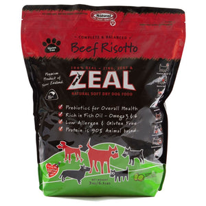 Zeal Beef Risotto Soft Dry Dog Food, 3kg - Happy Hoomans