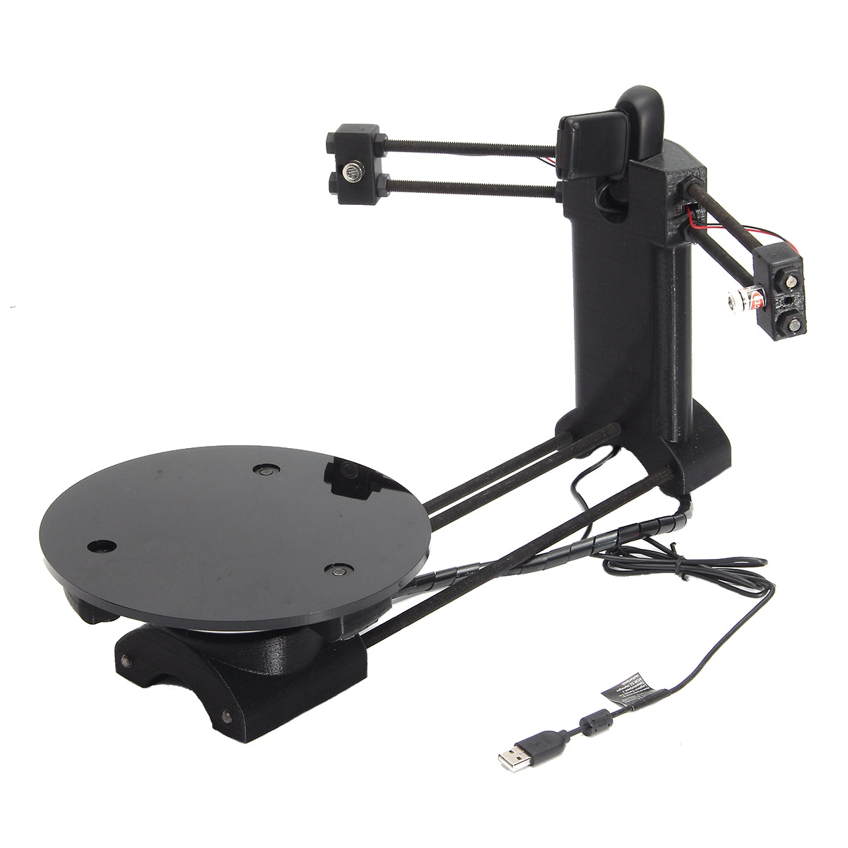 3D Laser Scanner Adapter Plate For Ciclop 3D Printer