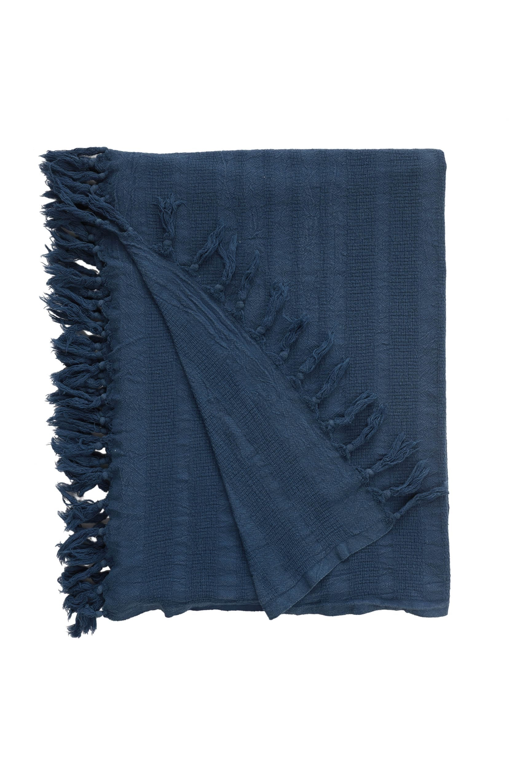 Rhye Dyed Cotton Blanket