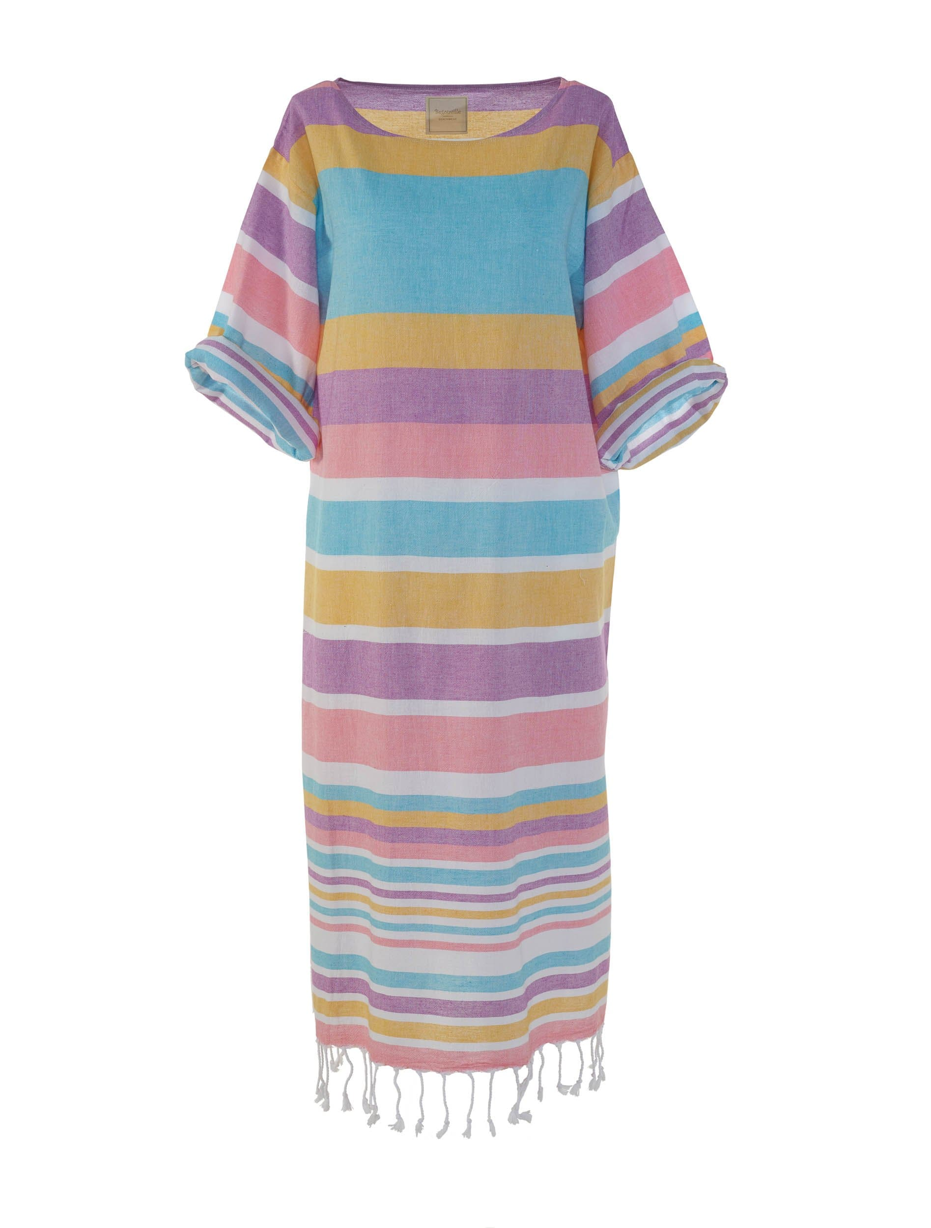 Begonville Maxi Dress Blake Cotton Maxi Dress Candy