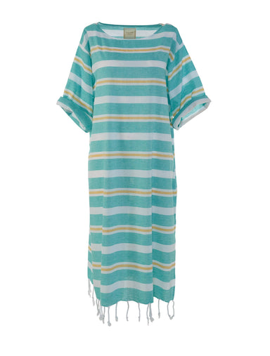 Begonville Maxi Dress Beryl Cotton Maxi Dress Green