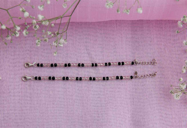 BEADS ANKLET Anklets - By Unniyarcha - Original Manufacturers of Silver Jewelry, Gold Plated Jewellery, Fashion Jewellery and Personalized Soul Bands and Personalized Jewelry