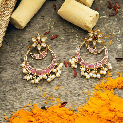 Silver Chand Bali Earring - By Unniyarcha - Original Manufacturers of Silver Jewelry, Gold Plated Jewellery, Fashion Jewellery and Personalized Soul Bands and Personalized Jewelry