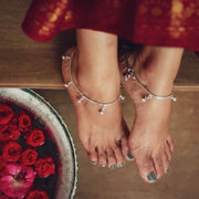 Silver Charm Anklet Anklets - By Unniyarcha - Original Manufacturers of Silver Jewelry, Gold Plated Jewellery, Fashion Jewellery and Personalized Soul Bands and Personalized Jewelry