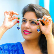 Silver Jahanara Shahzadi earring - By Unniyarcha - Original Manufacturers of Silver Jewelry, Gold Plated Jewellery, Fashion Jewellery and Personalized Soul Bands and Personalized Jewelry
