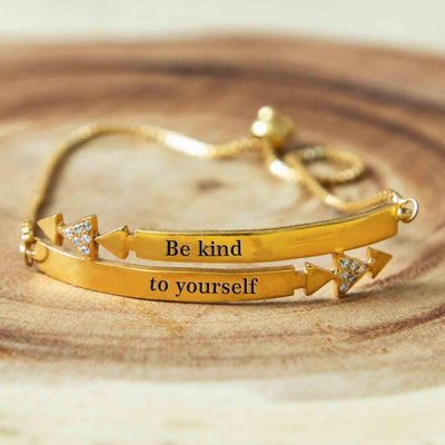 Soul Bands - Be kind to yourself - By Unniyarcha - Original Manufacturers of Silver Jewelry, Gold Plated Jewellery, Fashion Jewellery and Personalized Soul Bands and Personalized Jewelry