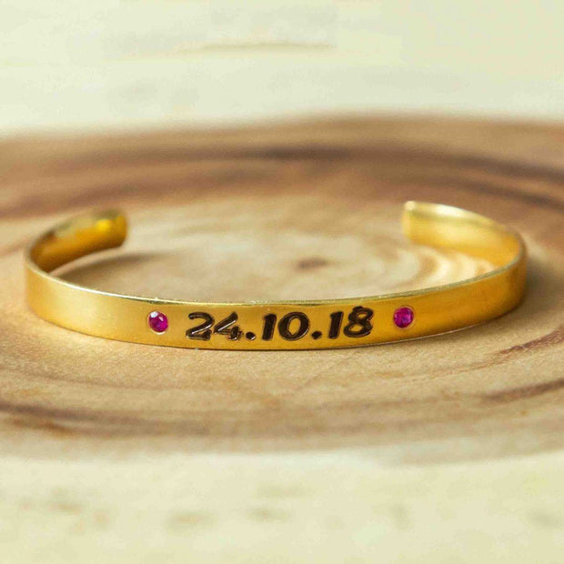 Soul Bands - Dates-Numbers - By Unniyarcha - Original Manufacturers of Silver Jewelry, Gold Plated Jewellery, Fashion Jewellery and Personalized Soul Bands and Personalized Jewelry