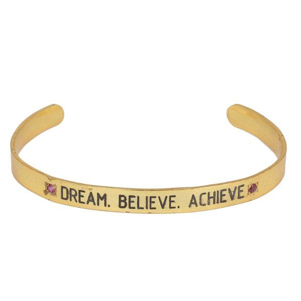 Soul Bands - Dream . Believe. Achieve. Bangles-Bracelets - By Unniyarcha - Original Manufacturers of Silver Jewelry, Gold Plated Jewellery, Fashion Jewellery and Personalized Soul Bands and Personalized Jewelry