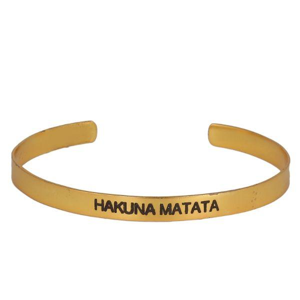 SOUL BANDS - Hakuna Matata Bangles-Bracelets - By Unniyarcha - Original Manufacturers of Silver Jewelry, Gold Plated Jewellery, Fashion Jewellery and Personalized Soul Bands and Personalized Jewelry