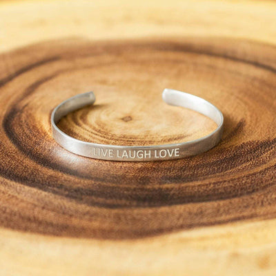 Soul Bands - Live Laugh Love - By Unniyarcha - Original Manufacturers of Silver Jewelry, Gold Plated Jewellery, Fashion Jewellery and Personalized Soul Bands and Personalized Jewelry