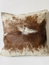 Load image into Gallery viewer, Cow hide leather cushion