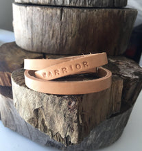 Load image into Gallery viewer, 'YOU'VE GOT THIS' Personalised leather bracelet - Houseofsamdesigns