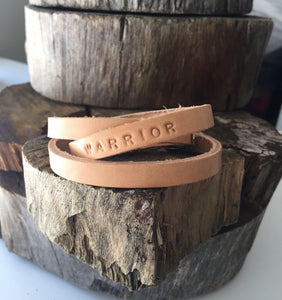 'YOU'VE GOT THIS' Personalised leather bracelet