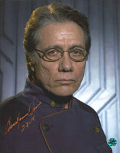 Load image into Gallery viewer, Edward James Olmos Signed Battlestar Galactica Photo