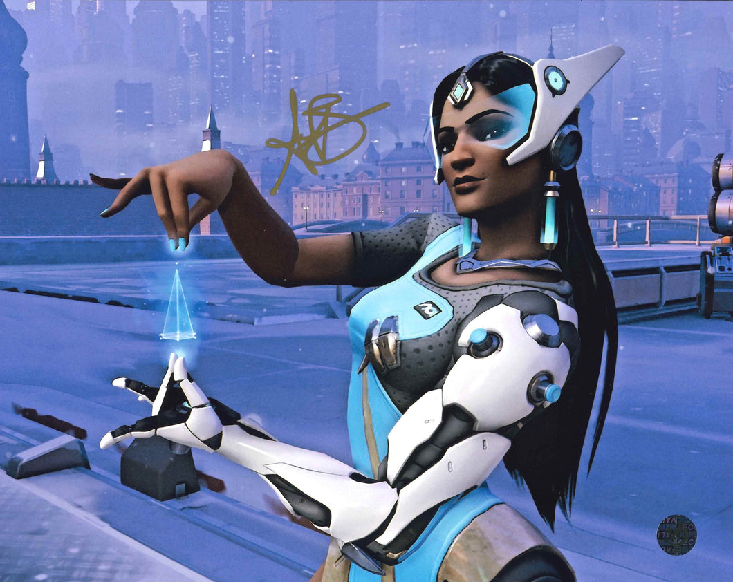 Anjali Bhimani Signed Overwatch Photo