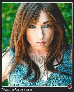 Naomi Grossman Signed Photo