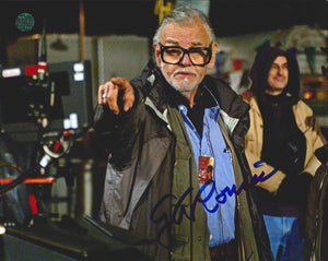 George A. Romero Signed Photo