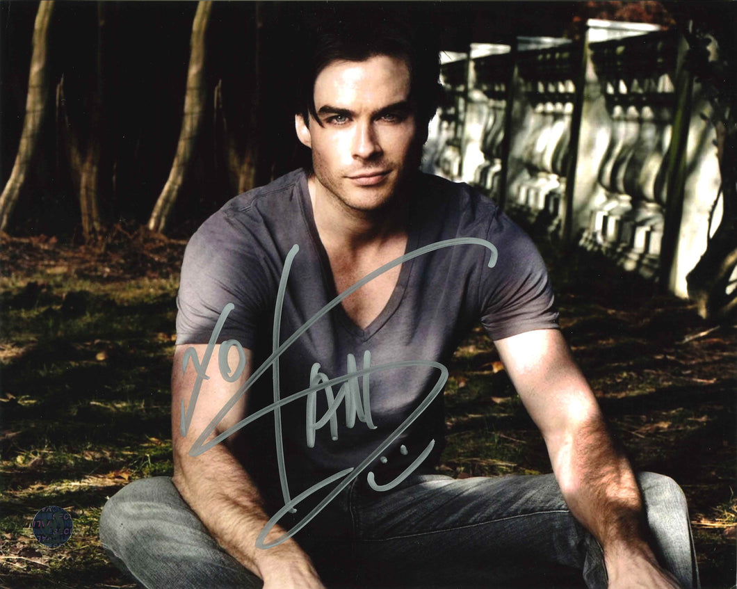 Ian Somerhalder Signed Photo