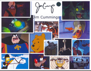 Jim Cummings Signed Photo
