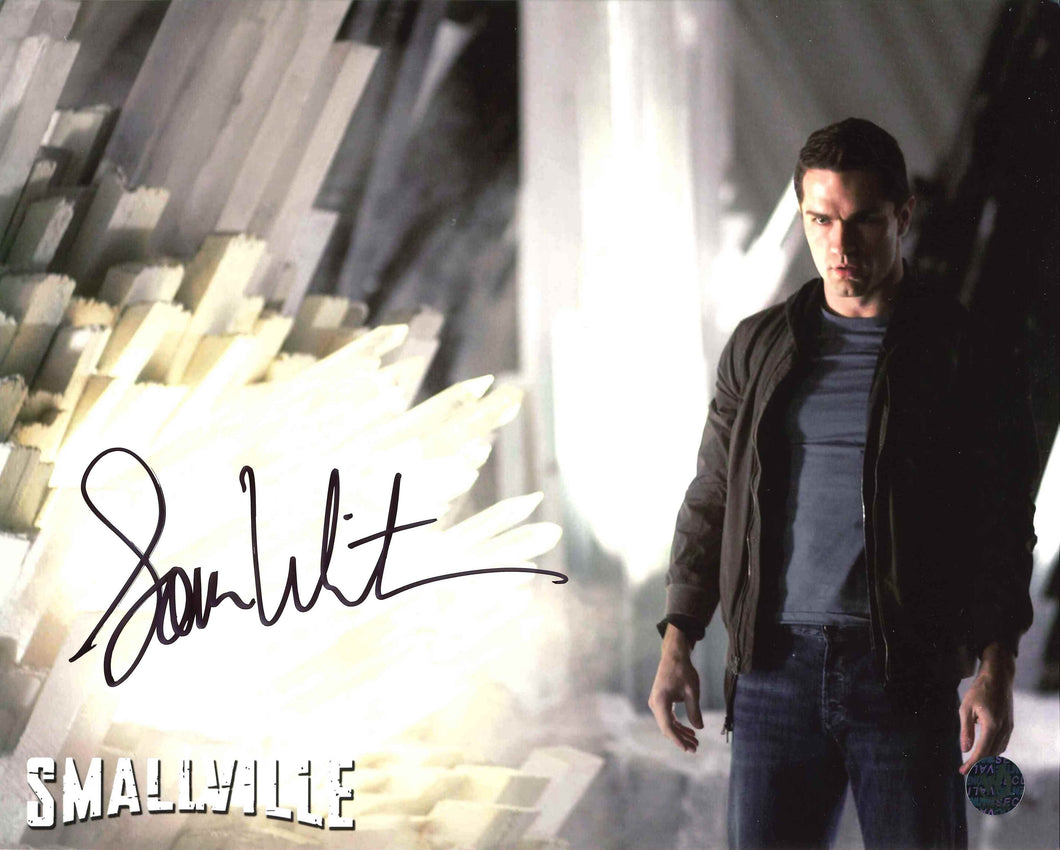 Sam Witwer Signed Smallville Photo