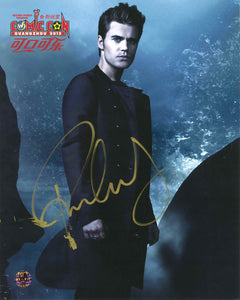 Paul Wesley Signed Wizard World Guangzhou China Photo