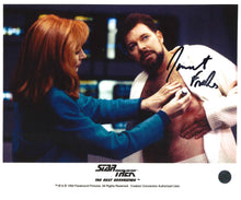 Load image into Gallery viewer, Jonathan Frakes Signed Star Trek Photo