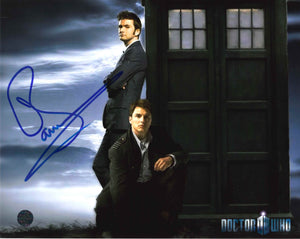 John Barrowman Signed Doctor Who Photo