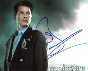 John Barrowman Signed Torchwood Photo