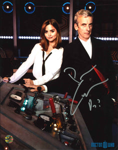 Peter Capaldi Signed Doctor Who Photo