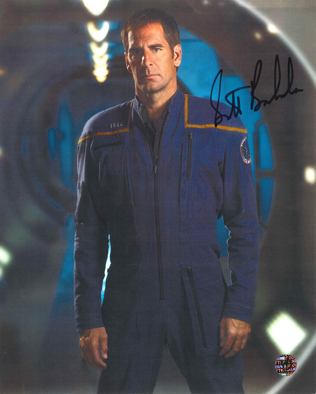Scott Bakula Signed Star Trek Photo
