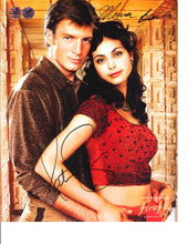 Load image into Gallery viewer, Nathan Fillion and Morena Baccarin Signed Firefly Photo
