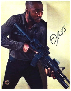 BJ Britt Signed Photo
