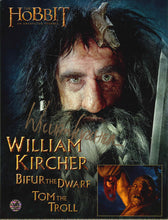 Load image into Gallery viewer, William Kircher Signed The Hobbit Photo
