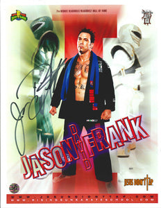Jason David Frank Signed Photo