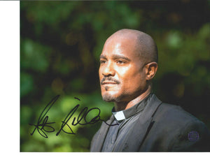 Seth Gilliam Signed The Walking Dead Photo