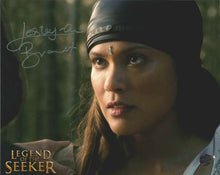 Load image into Gallery viewer, Lesley Ann-Brandt Signed Legend of the Seeker Photo