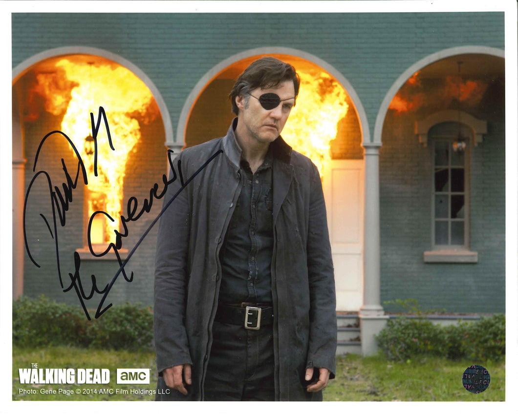 David Morrissey Signed The Walking Dead Photo